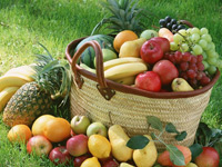 Продукция: фрукты и овощи